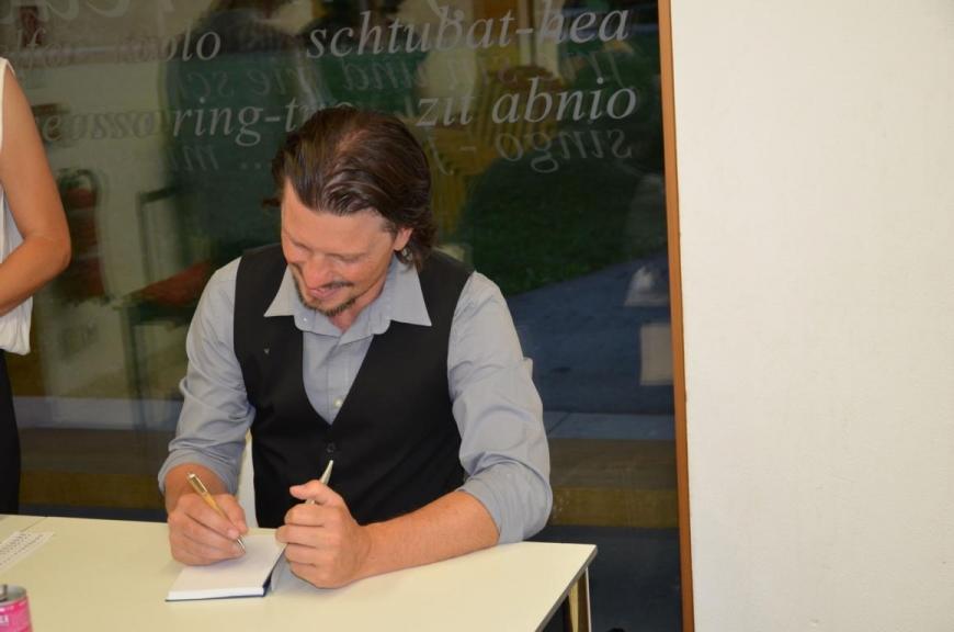 'Autor Andreas Wassner liest aus