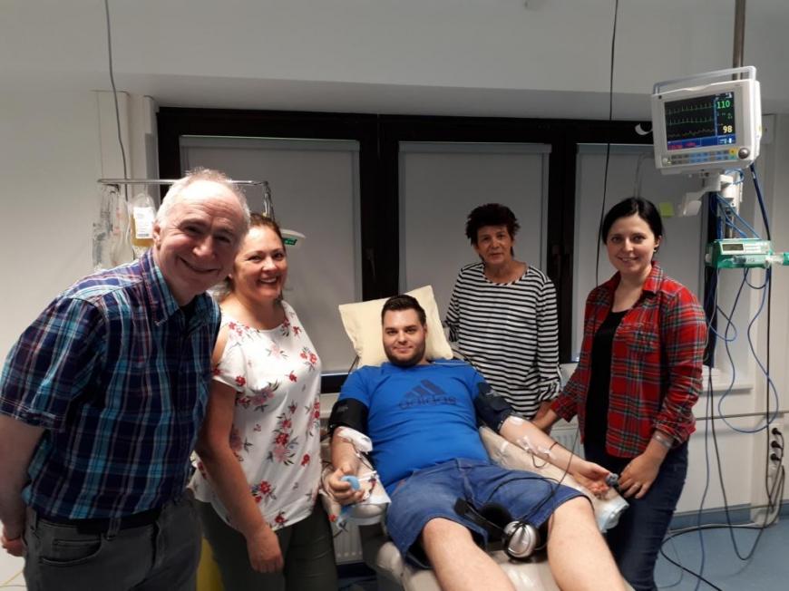 'Lustenauer spendete Stammzellen für erwachsenen Mann'-Bild-1