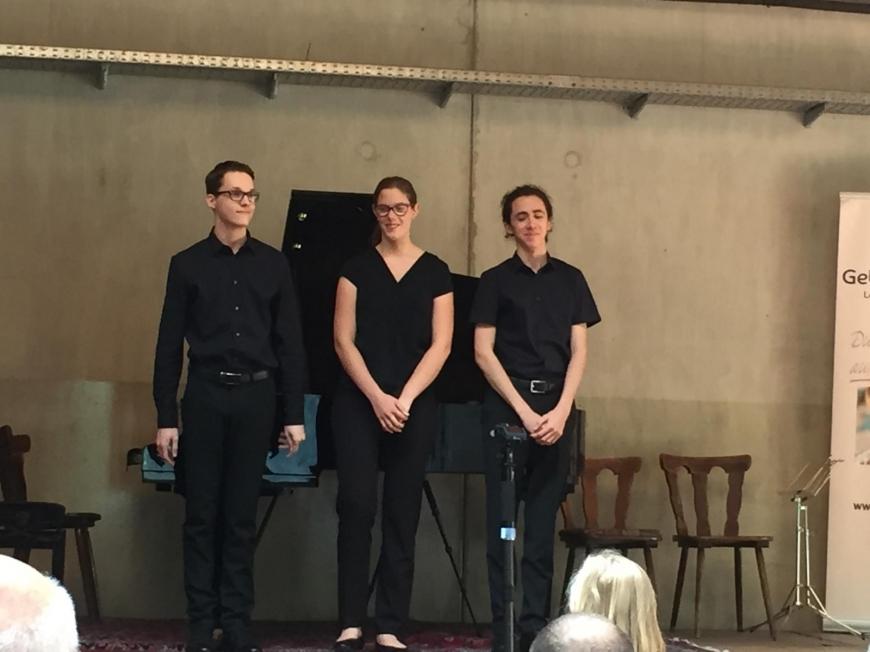 'Tolle Aufführung junger klassischer Musiker für den guten Zweck'-Bild-1