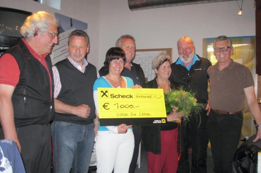 'Golfclub Silvretta spendet 1.000 Euro!'-Bild-4