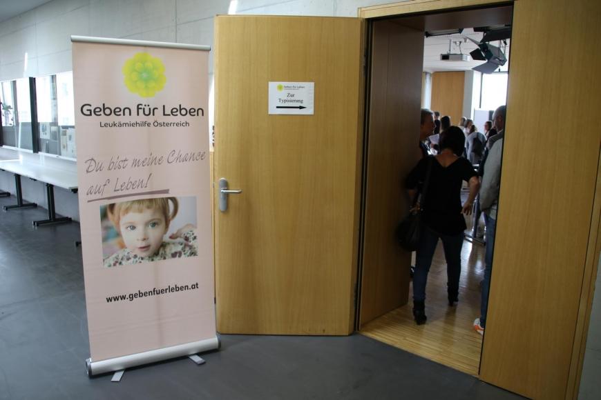 'Typisierungsaktion am Selbsthilfetag der FH Vorarlberg in Dornbirn'-Bild-4
