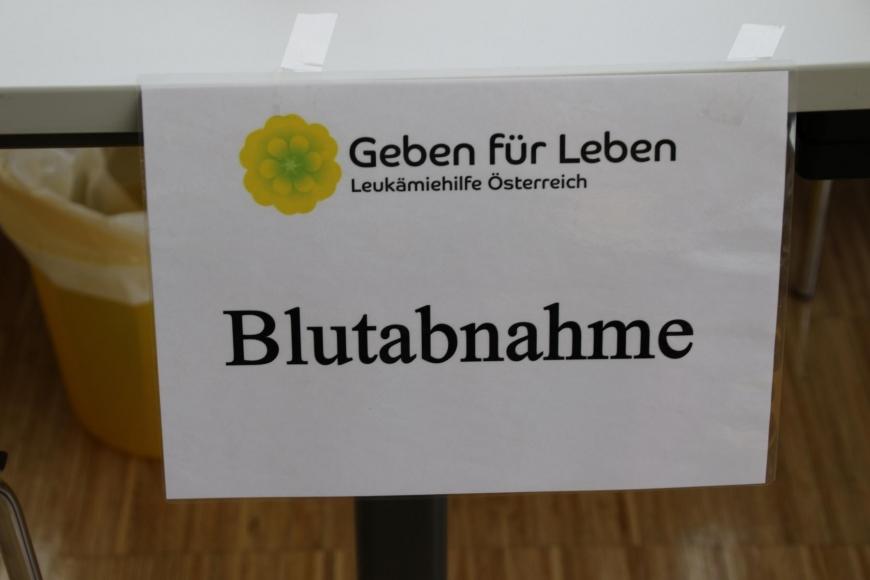 'Typisierungsaktion am Selbsthilfetag der FH Vorarlberg in Dornbirn'-Bild-11