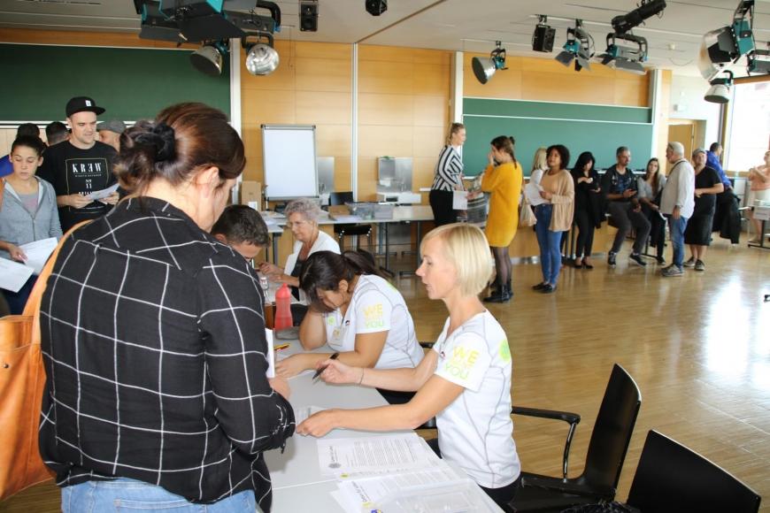 'Typisierungsaktion am Selbsthilfetag der FH Vorarlberg in Dornbirn'-Bild-16