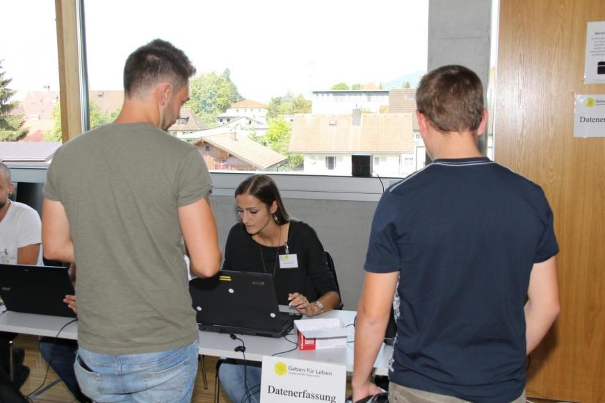 'Typisierungsaktion am Selbsthilfetag der FH Vorarlberg in Dornbirn'-Bild-21