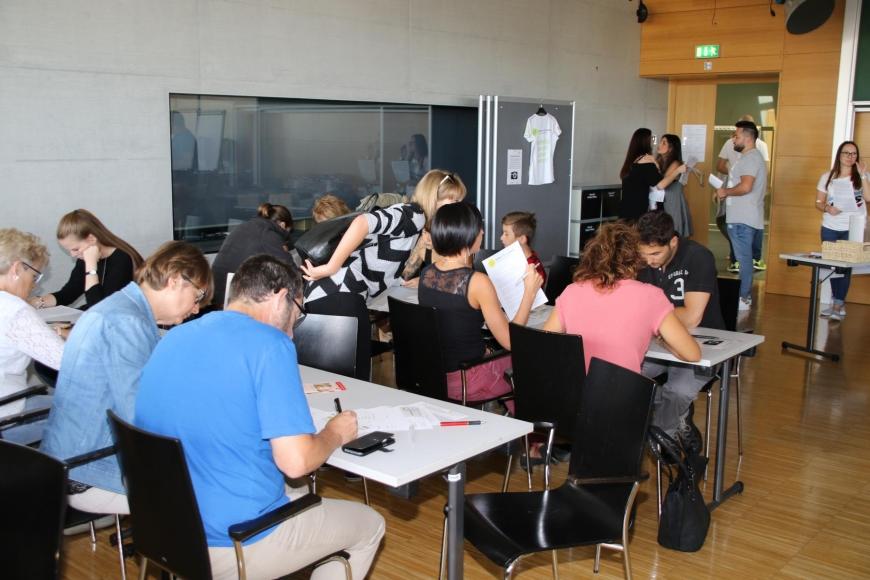 'Typisierungsaktion am Selbsthilfetag der FH Vorarlberg in Dornbirn'-Bild-24