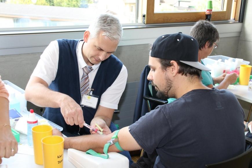 'Typisierungsaktion am Selbsthilfetag der FH Vorarlberg in Dornbirn'-Bild-36