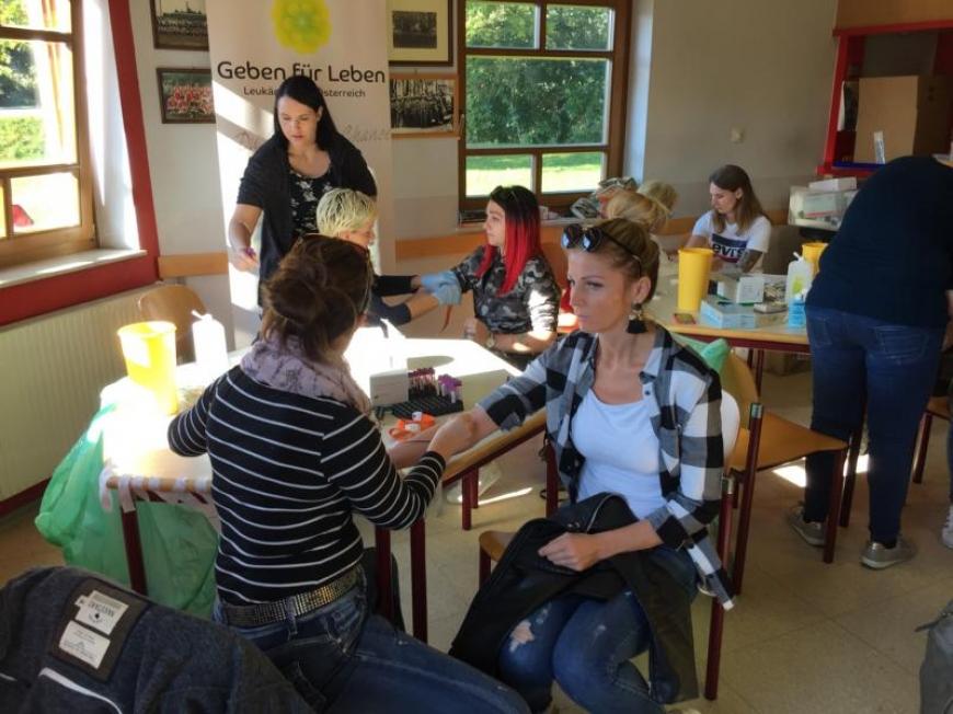 'Typisierungsaktion in der Steiermark mit toller Unterstützung'-Bild-1