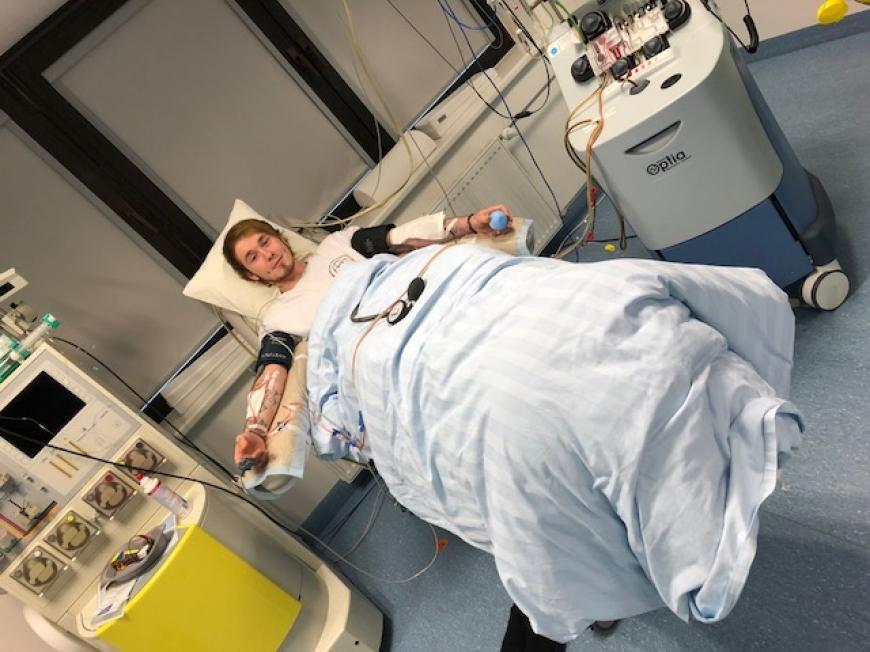 'Marcel Heuer hat seine gesunden Stammzellen gespendet'-Bild-2