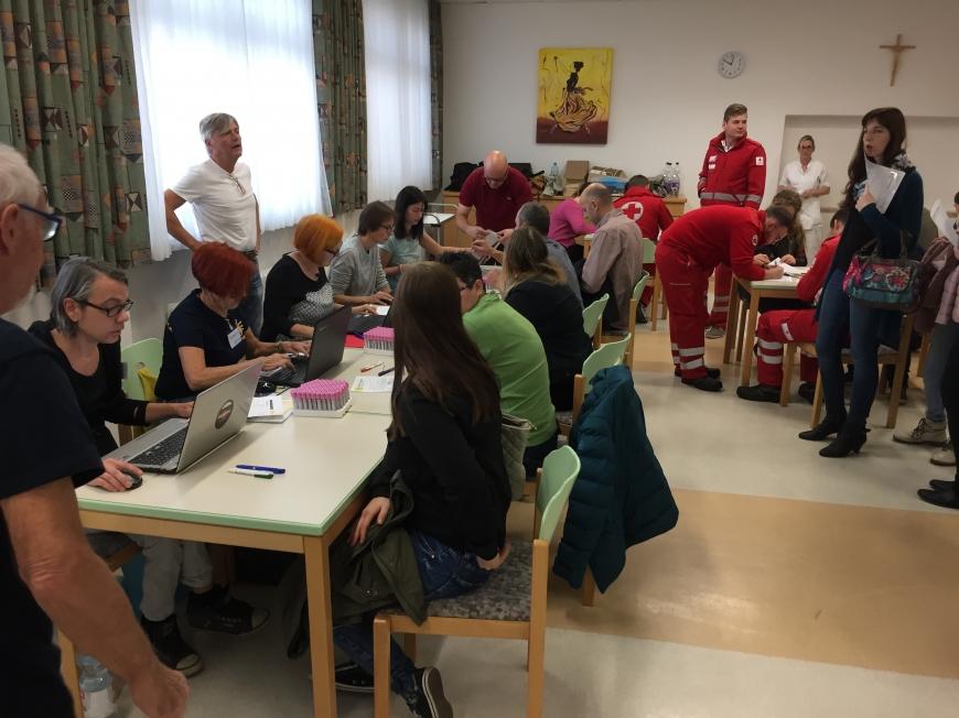 'Tolle Typisierungsaktion in Güssing im Burgenland'-Bild-2