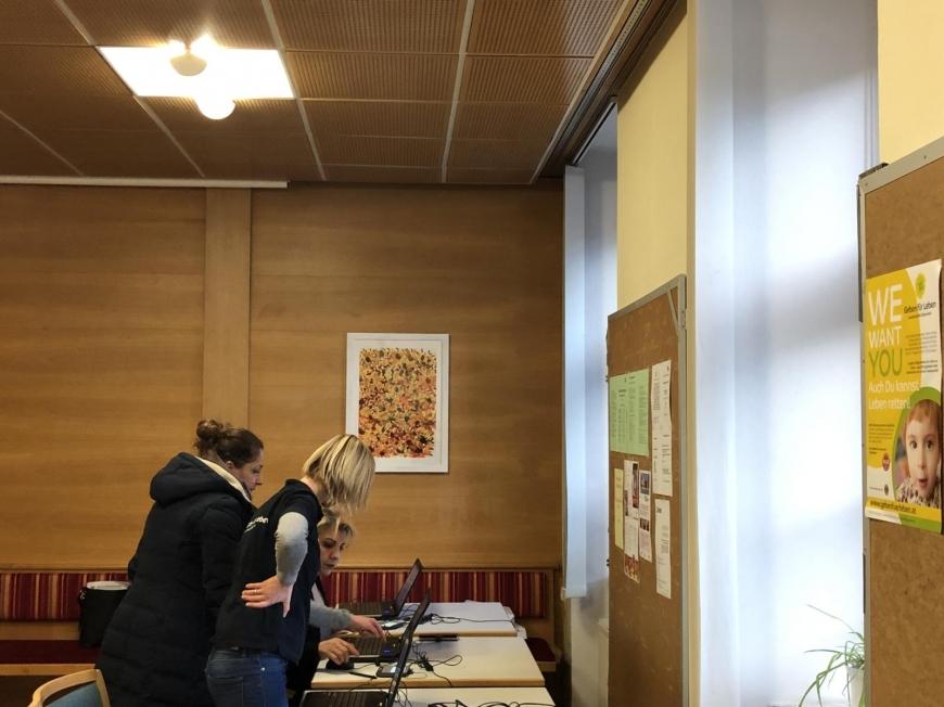 'Typisierungsaktion für kleine Ökyü in der Tiroler Landeshauptstadt'-Bild-2