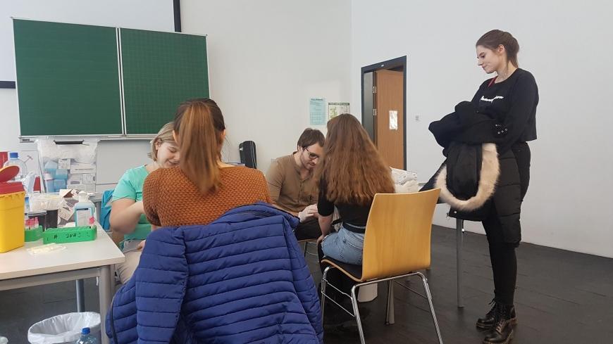 'Tolle Typisierungsaktion durch Maturaprojekt von vier engagierten Jugendlichen'-Bild-6