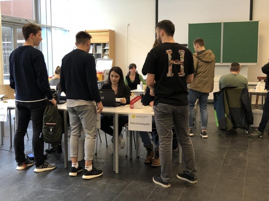'Tolle Typisierungsaktion durch Maturaprojekt von vier engagierten Jugendlichen'-Bild-19