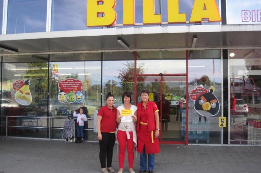 'Billa spendet durch Hilfsaktion € 3.608,-!'-Bild-1