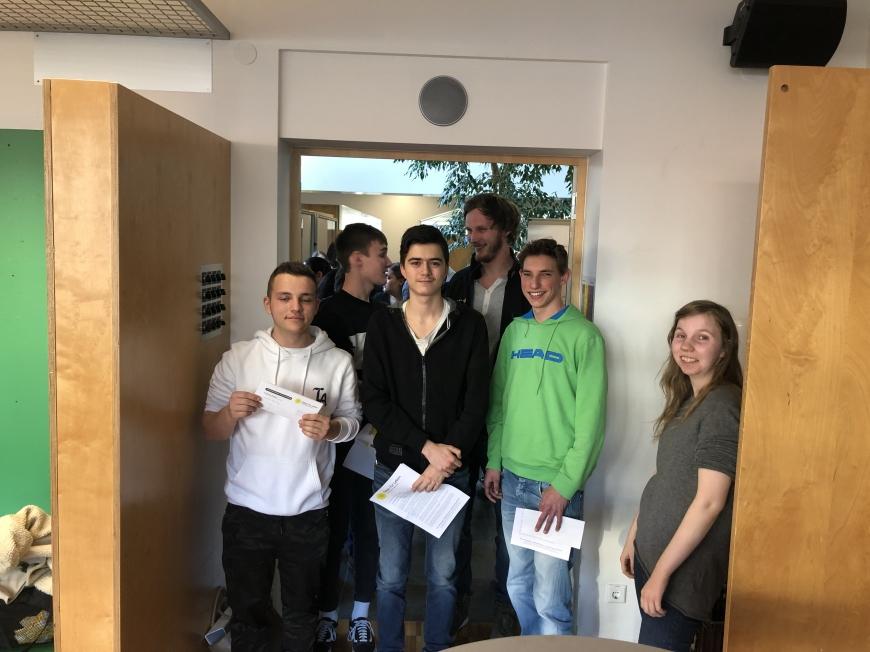 'Schulprojekt der Landesberufsschule Dornbirn 2 erzielt großartiges Ergebnis bei Typisierungsaktion'-Bild-2