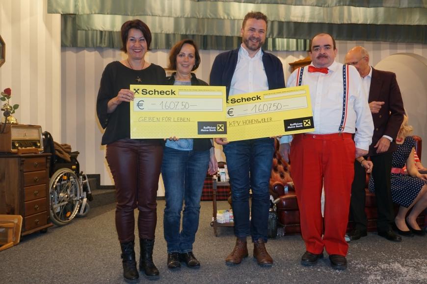 'Tolles Theater spendet Einnahmen an unseren Verein und an den Krankenpflegeverein Hohenweiler'-Bild-1