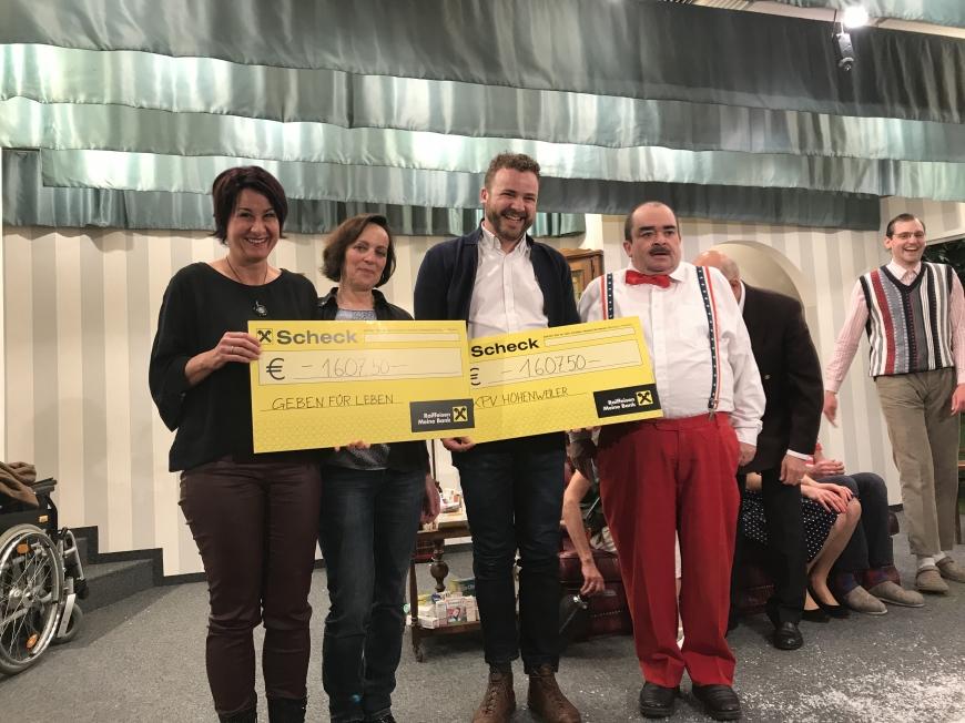 'Tolles Theater spendet Einnahmen an unseren Verein und an den Krankenpflegeverein Hohenweiler'-Bild-12