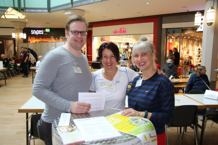 'Traditionelle Typisierungsaktion im Dornbirner Einkaufszentrum wieder ein Erfolg'-Bild-6