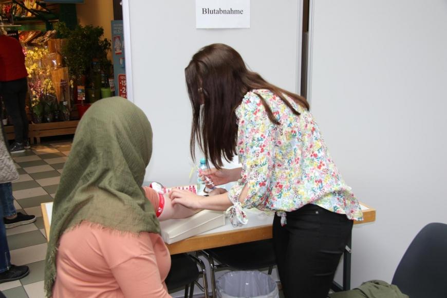 'Traditionelle Typisierungsaktion im Dornbirner Einkaufszentrum wieder ein Erfolg'-Bild-22
