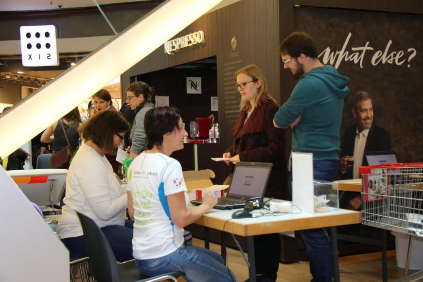'Traditionelle Typisierungsaktion im Dornbirner Einkaufszentrum wieder ein Erfolg'-Bild-29