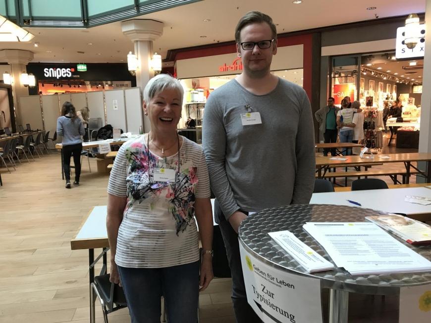 'Traditionelle Typisierungsaktion im Dornbirner Einkaufszentrum wieder ein Erfolg'-Bild-35