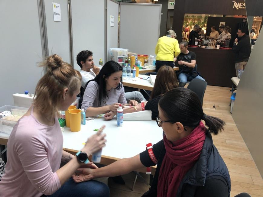 'Traditionelle Typisierungsaktion im Dornbirner Einkaufszentrum wieder ein Erfolg'-Bild-36
