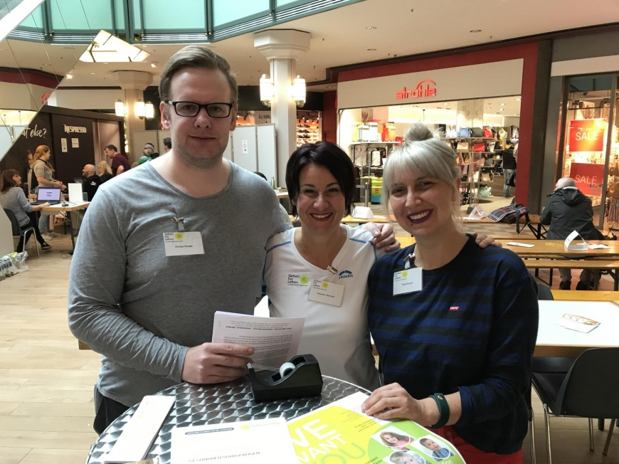 'Traditionelle Typisierungsaktion im Dornbirner Einkaufszentrum wieder ein Erfolg'-Bild-37