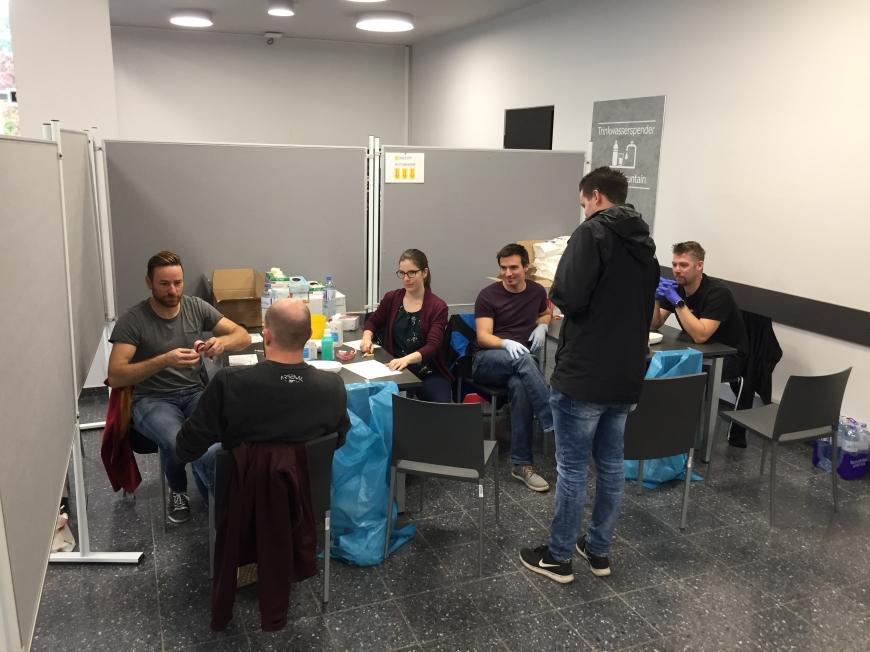 'Tolle Typisierungsaktion an Universität in der Steiermark'-Bild-1