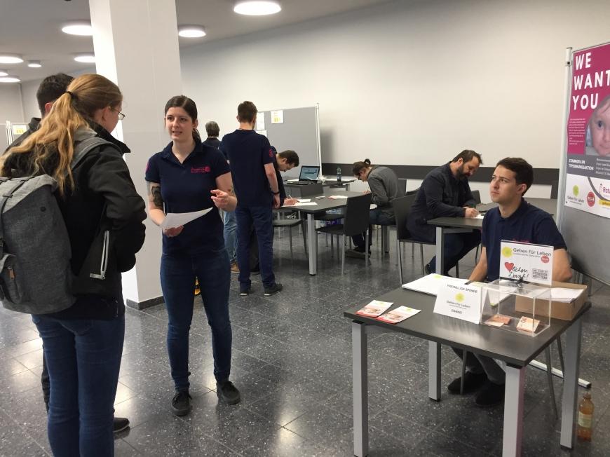 'Tolle Typisierungsaktion an Universität in der Steiermark'-Bild-8