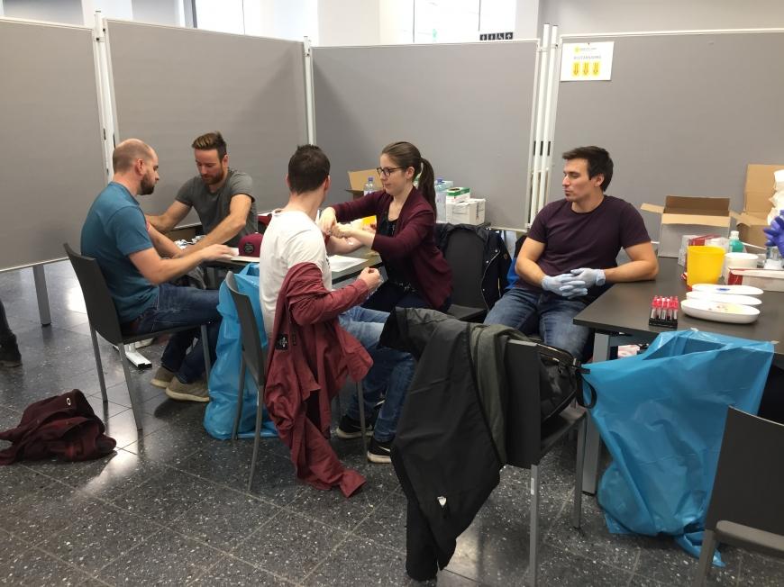 'Tolle Typisierungsaktion an Universität in der Steiermark'-Bild-9