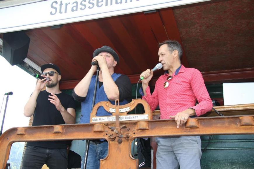 'Söhne Mannheims, Jumbo Schreiner und Falco Luneau begeisterten die Gäste im Bregenzerwald'-Bild-53