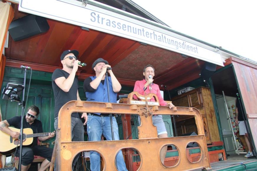 'Söhne Mannheims, Jumbo Schreiner und Falco Luneau begeisterten die Gäste im Bregenzerwald'-Bild-56