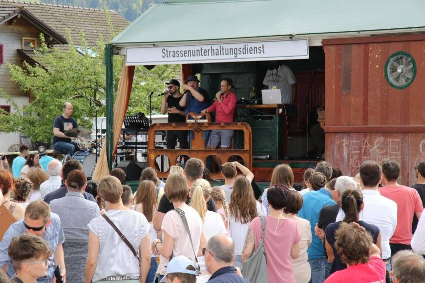 'Söhne Mannheims, Jumbo Schreiner und Falco Luneau begeisterten die Gäste im Bregenzerwald'-Bild-75