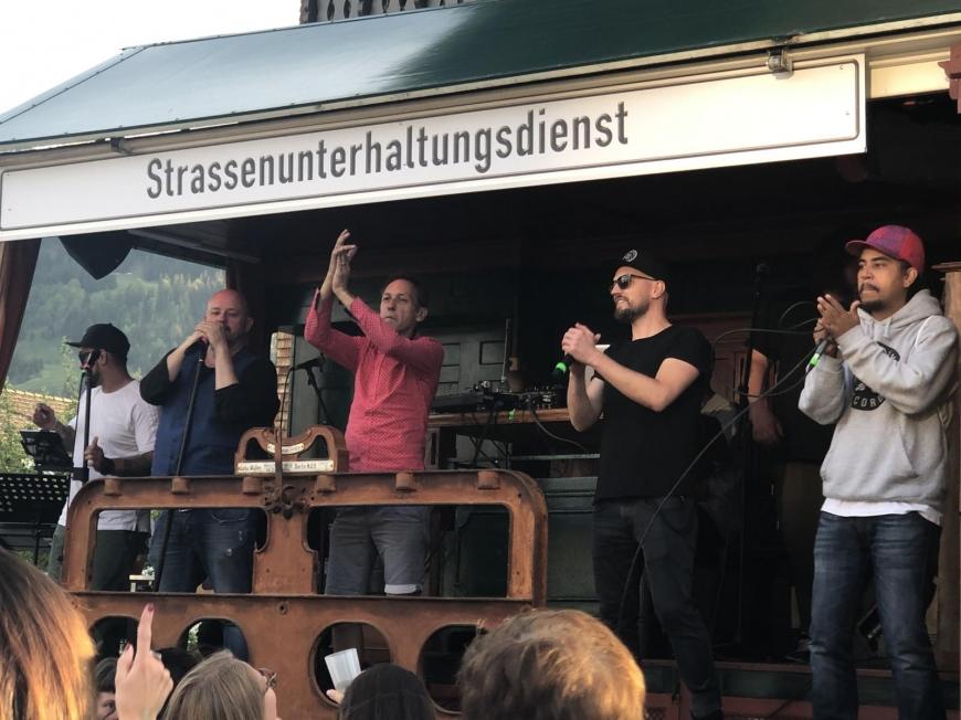 'Söhne Mannheims, Jumbo Schreiner und Falco Luneau begeisterten die Gäste im Bregenzerwald'-Bild-80