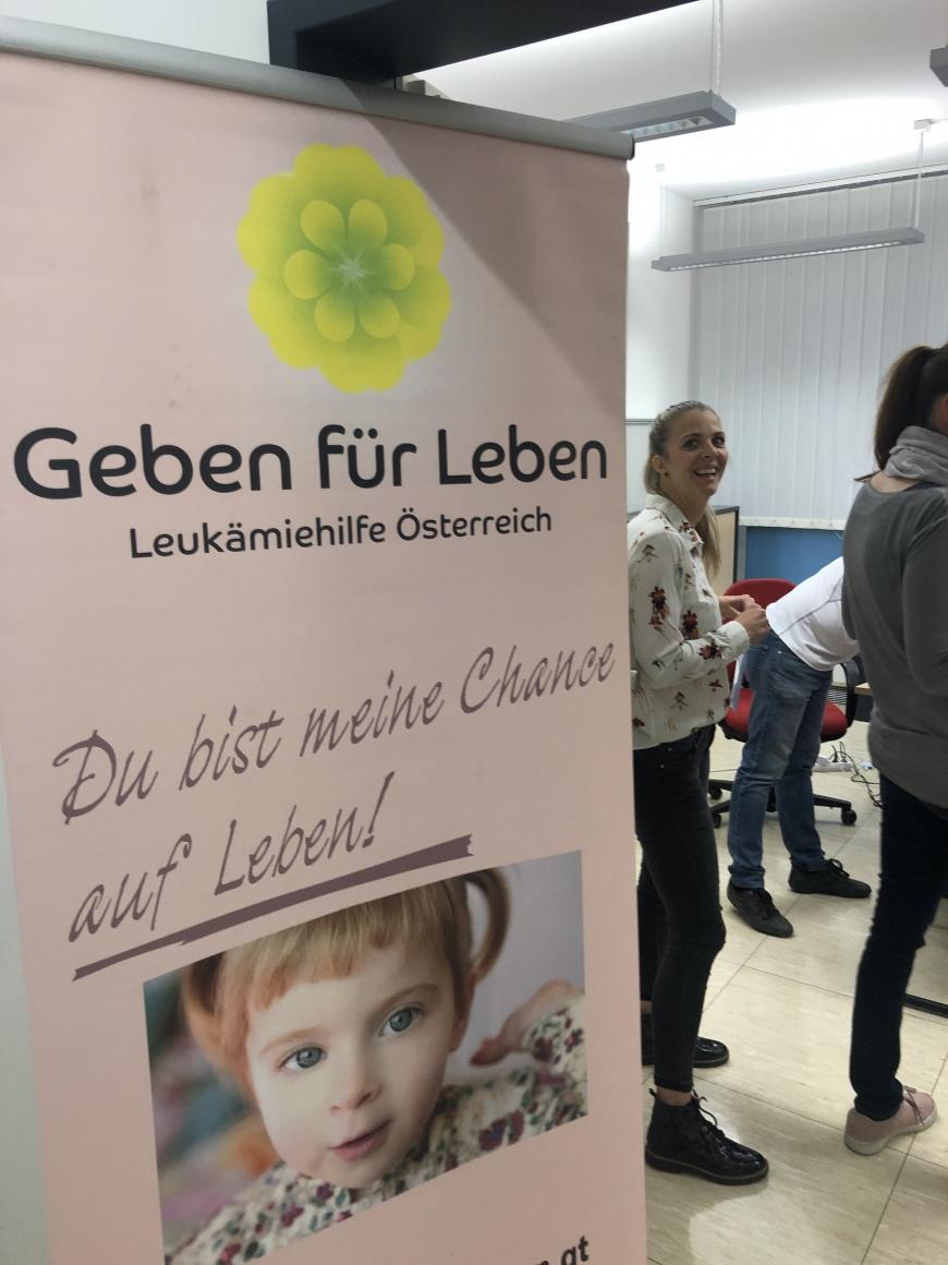 'Tolle Typisierungsaktion in der Pensionsversicherungsanstalt in Dornbirn'-Bild-3