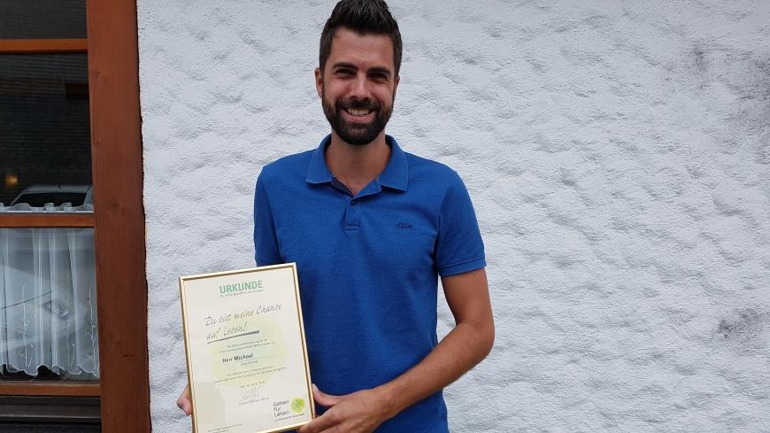 'Vorarlberger Stammzellspender schenkt Hoffnung auf Leben'-Bild-1