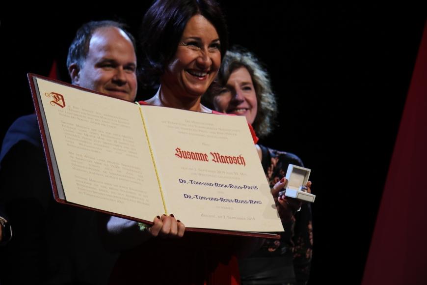 'Berührende Preisverleihung im Festspielhaus Bregenz würdigt Arbeit von Susanne Marosch'-Bild-29