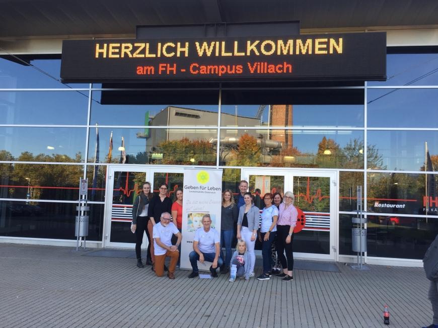 'Zweite große Typisierungsaktion an der FH in Villach ein voller Erfolg'-Bild-6