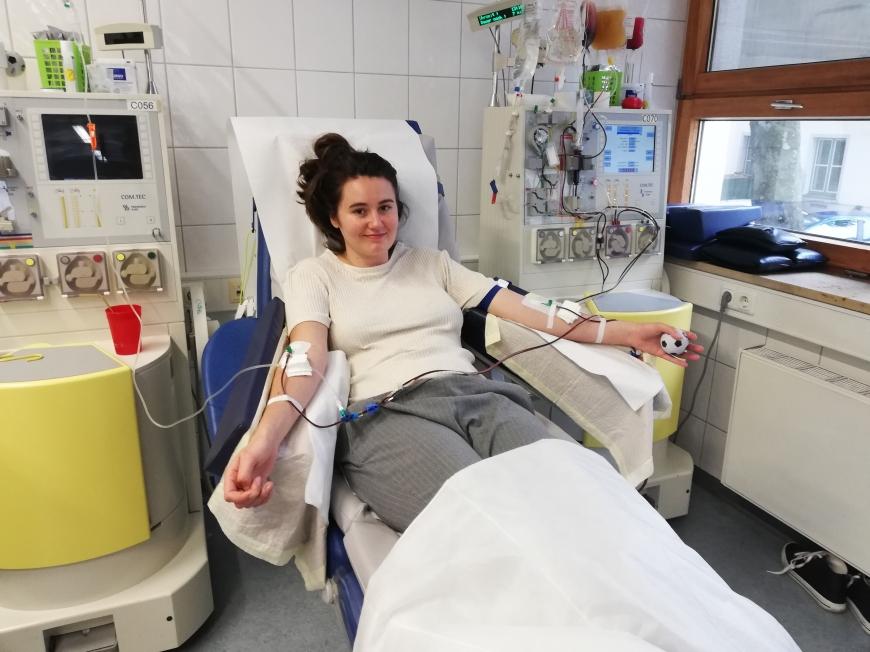 'Dornbirnerin leistet Stammzellspende an eine europäische Frau'-Bild-1