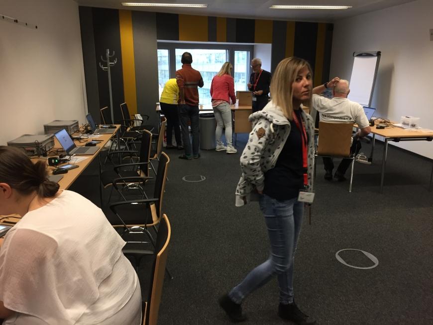 'Firmentypisierung bei Siemens in Wien auch bei Spende großer Erfolg'-Bild-1