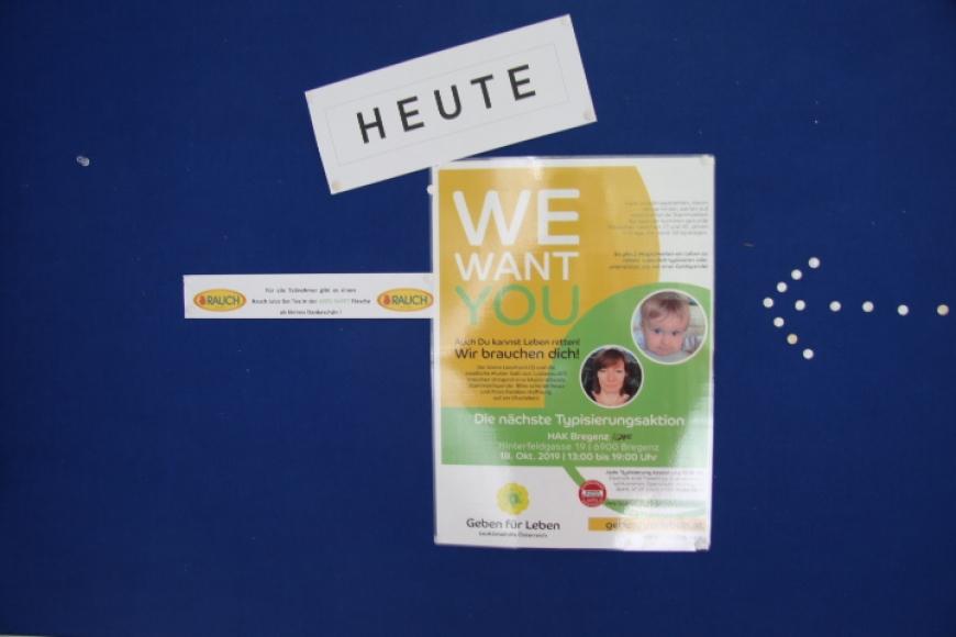 'Typisierungsaktion an Vorarlberger Schule ein voller Erfolg'-Bild-2