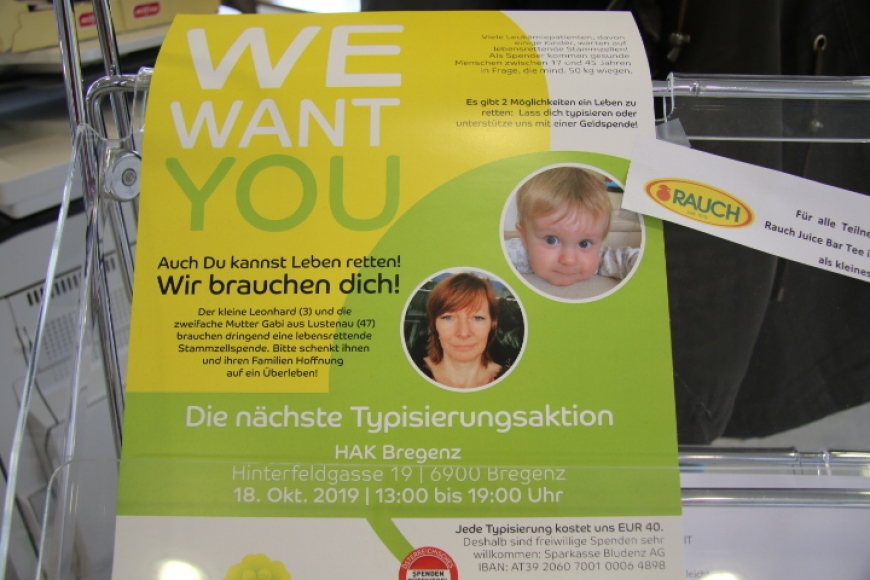 'Typisierungsaktion an Vorarlberger Schule ein voller Erfolg'-Bild-7