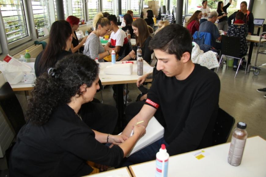 'Typisierungsaktion an Vorarlberger Schule ein voller Erfolg'-Bild-34