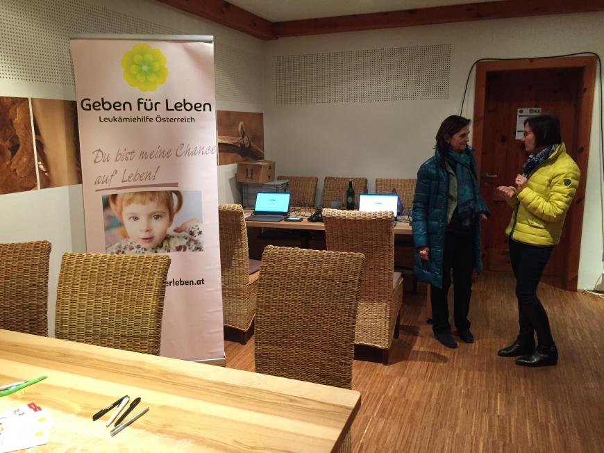 'Familie Lachinger organisierte Spendenaktion mit begleitenden Typisierungen'-Bild-3