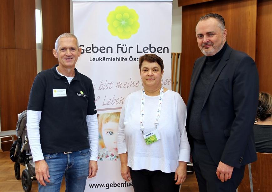 'Erfolgreiche Typisierungsaktion im Burgenland auf Initiative des Landeshauptmanns'-Bild-1