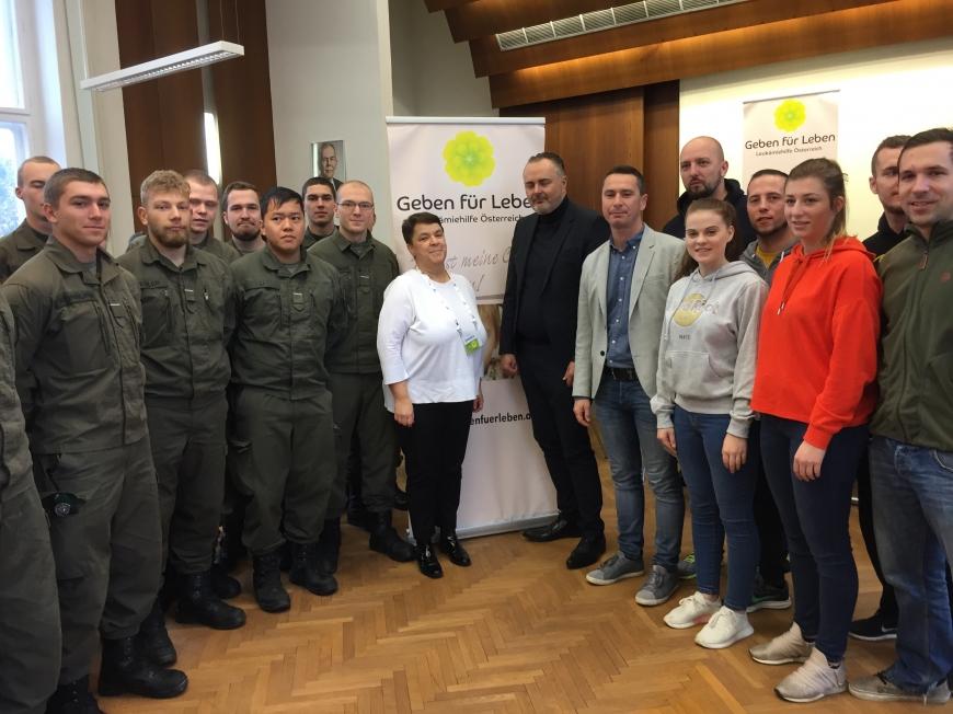 'Erfolgreiche Typisierungsaktion im Burgenland auf Initiative des Landeshauptmanns'-Bild-11