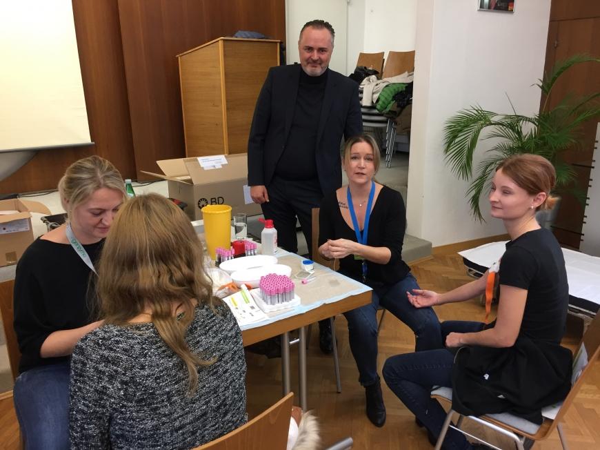 'Erfolgreiche Typisierungsaktion im Burgenland auf Initiative des Landeshauptmanns'-Bild-13
