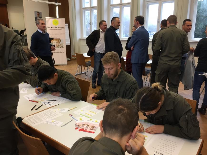'Erfolgreiche Typisierungsaktion im Burgenland auf Initiative des Landeshauptmanns'-Bild-16