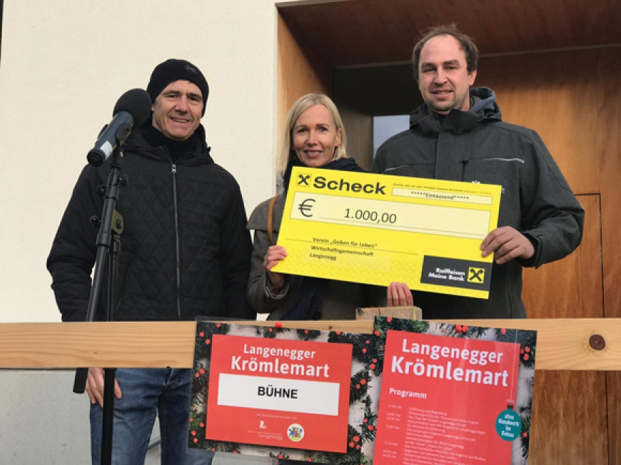 'Traditioneller Markt in Langenegg mit toller Spende'-Bild-1