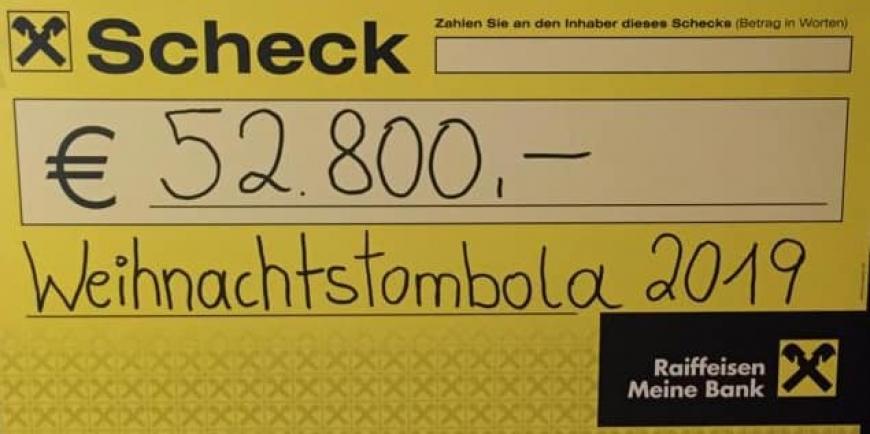 'Großartige Spende durch Weihnachtstombola von engagiertem Pärchen und ihrem tollen Team'-Bild-1
