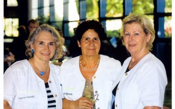Die drei Gründerinnen: Dagmar Ganahl, Herlinde Marosch, Melitta Mair